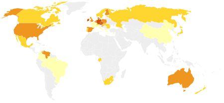 Consommation de bière dans le monde