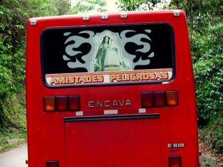 Un bus à Calderas