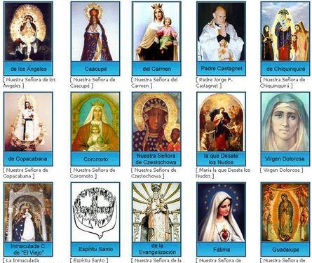 Vierges latinoaméricaines