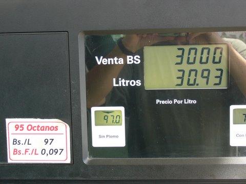 Prix de l'essence à la pompe