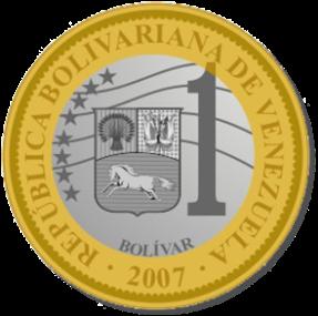 La nouvelle pièce de un bolivar