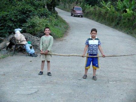 Año viejo en Canaguá