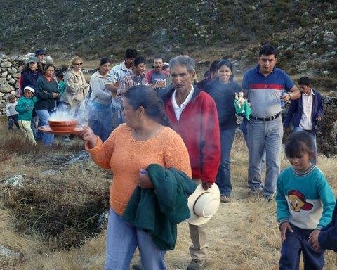 """""""Paradura"""" dans les Andes vénézuéliennes"""