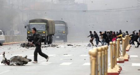 Émeutes au Tibet