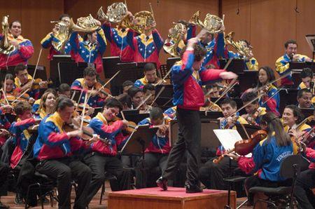 L'orchestre symphonique Simon Bolivar