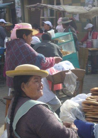 Le marché de Tarija (Bolivie)