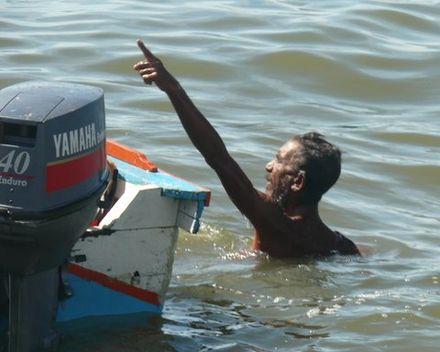 Un pêcheur de Margarita