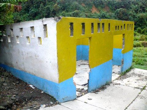 L'abattoir démoli à El Molino