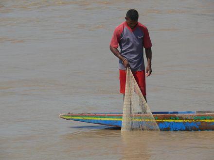 Pêcheur à Elorza