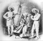 Joropo, dessin de Eloy Palacios (1912)