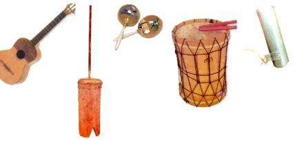 Les instruments de la gaita
