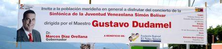 La banderole du gouverneur