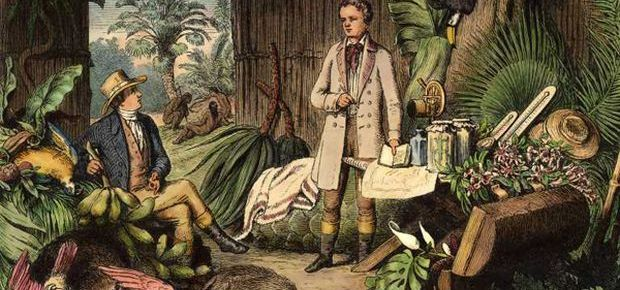 Humboldt et Bonpland en Amazonie