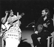 Cristobal Soto avec Soledad Bravo en 1979