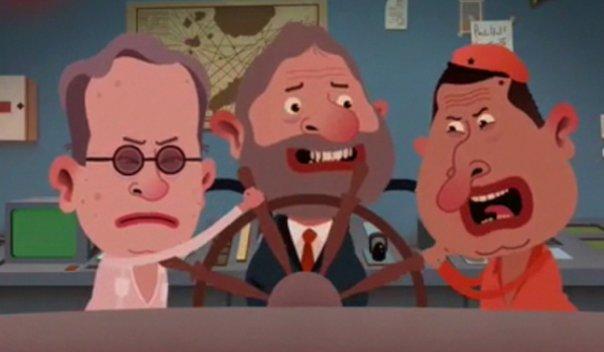Isla presidencial: Uribe, Lula, Chávez