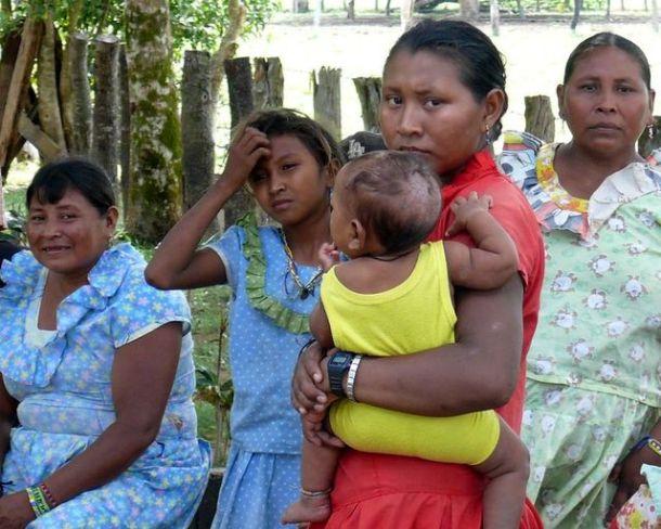 Femmes Pumé (état Apure, Venezuela)