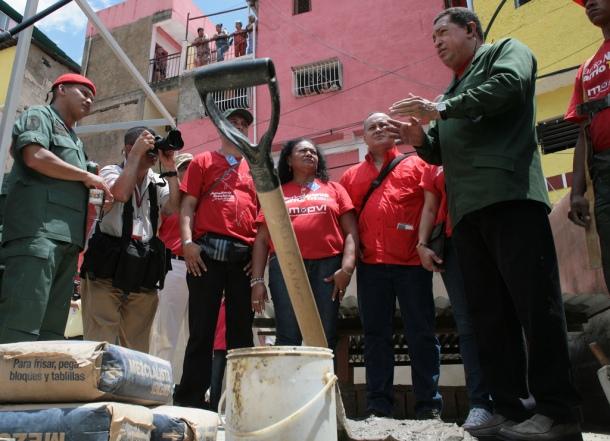 Hugo Chavez au 23 de enero