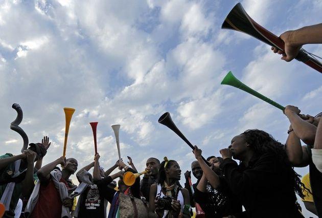 Vuvuzelas en concert