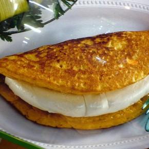 La <i>cachapa</i>, cette délicieuse galette demaïs