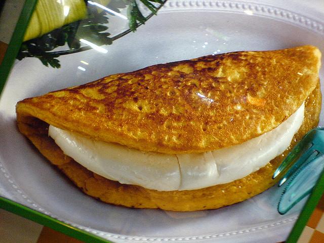 la cachapa, une délicieuse galette de maïs