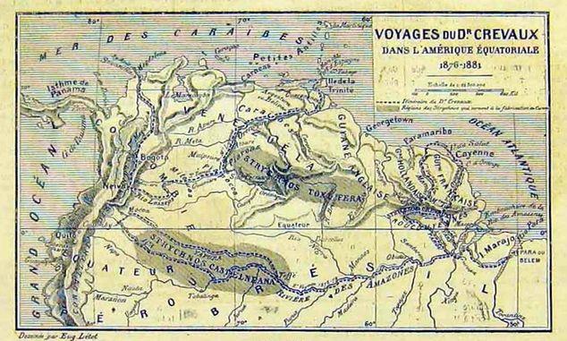 Voyages de Jules Crevaux en Amazonie (1876-1881)