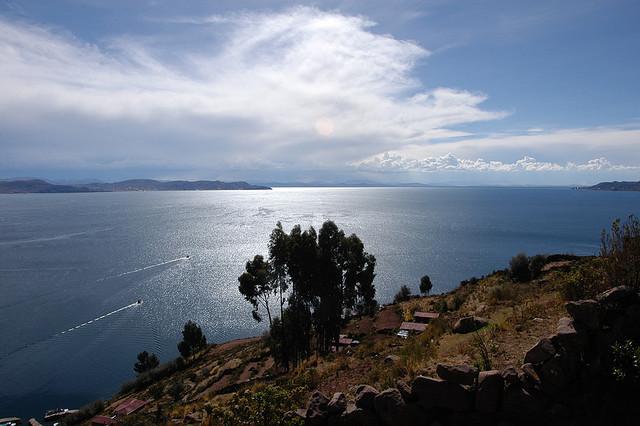 Lac Titicaca, par Dul