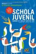 La schola juvenil du Venezuela à Montreuil