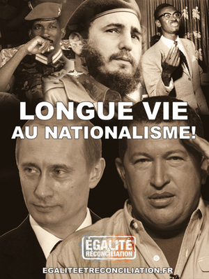 Une affiche d'Égalité et Réconciliation