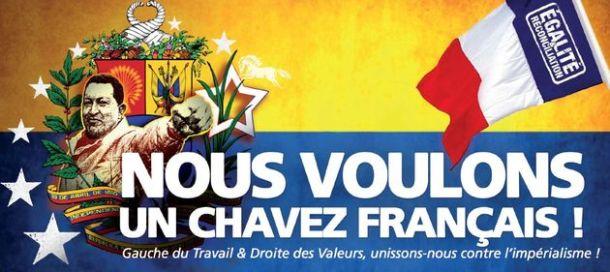Égalité et Réconciliation: Nous voulons un Chávez français