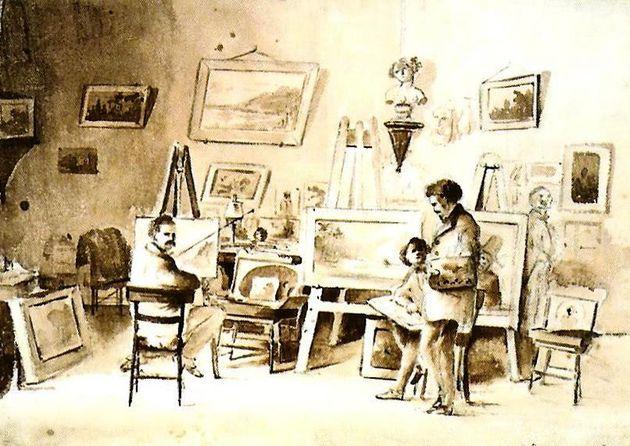 Camille Pissarro, Atelier à Caracas