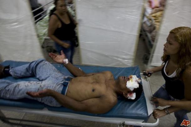 Insécurité au Venezuela