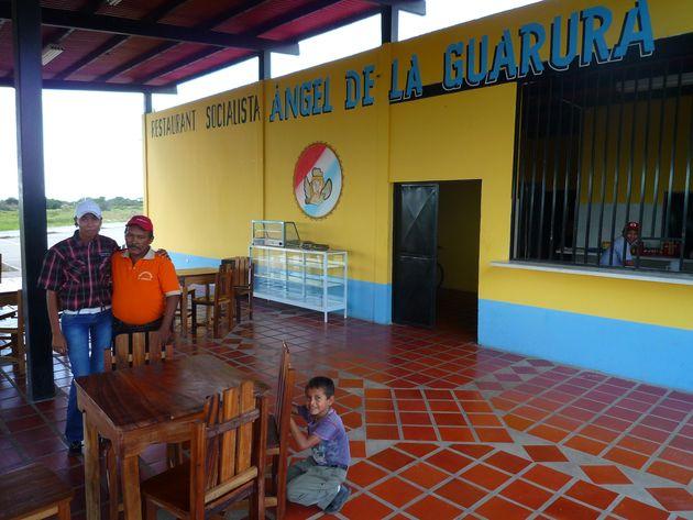 Le restaurant Angel de la Guarura à Elorza