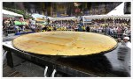 Le record Guinness de la plus grand arepa
