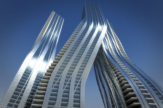 Dubai, les tours dansantes
