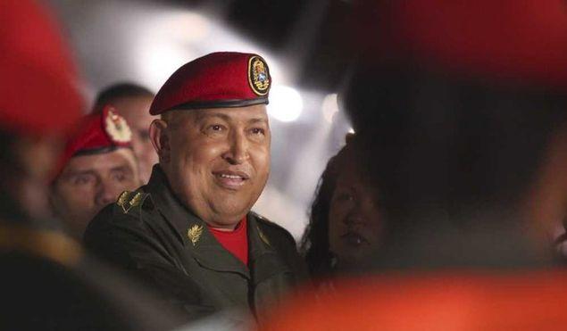 Hugo Chávez à son retour d'un contrôle médical à Cuba
