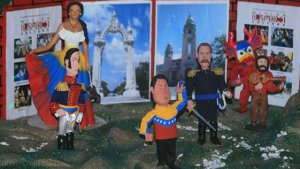 Chávez dans la crèche