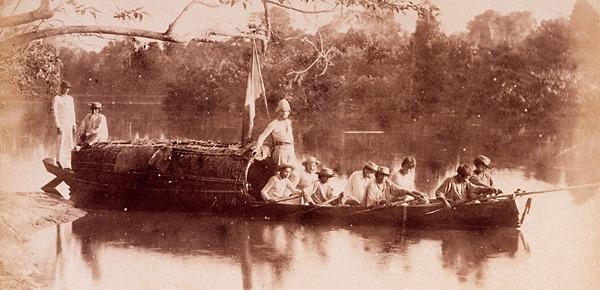 Auguste Morisot sur l'Orénoque