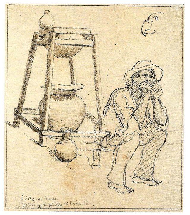 Auguste Morisot, Filtre de pierre