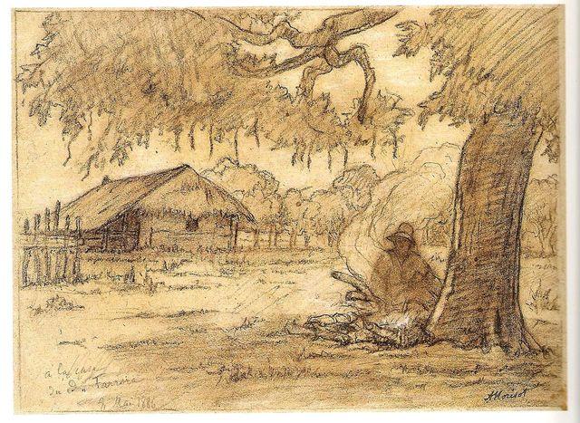 Auguste Morisot, Chez le docteur Ferrera