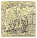 Auguste Morisot, Cuisson d'une jeune génisse à la façon des llaneros