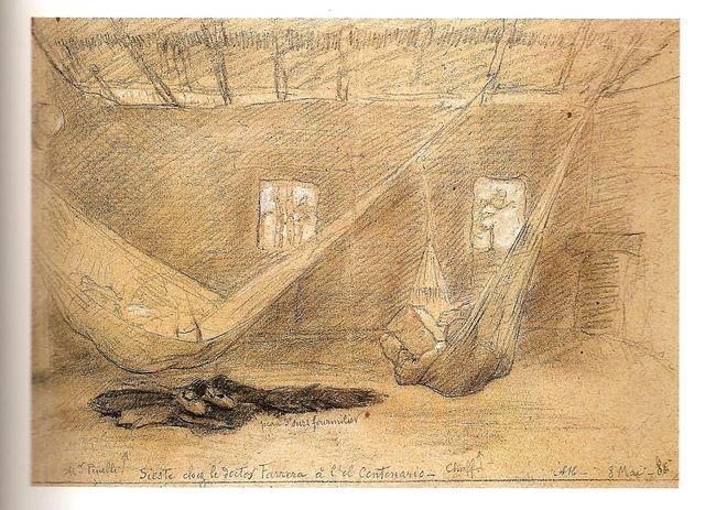 Auguste Morisot, Sieste chez le docteur Ferrera