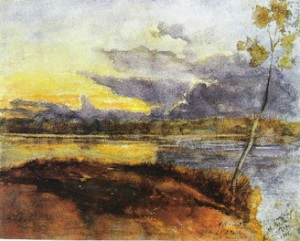 Auguste Morisot, Paysage