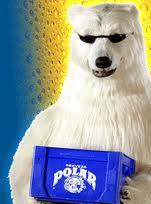 Caisse de bière Polar
