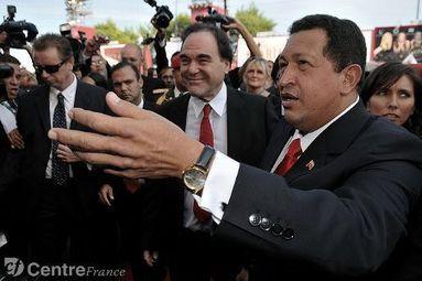 Chavez et Oliver Stone