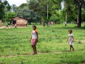 Le village Pumé de Boca Tronador