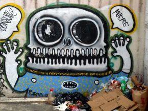 Peintures murales, tags et graffiti plein la vue!