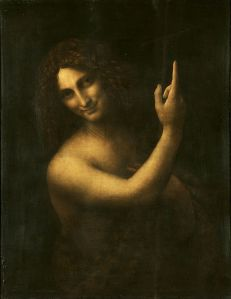 Saint Jean-Baptiste, par Leonard de Vinci