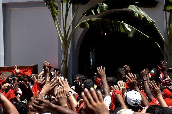 Fête de San Juan à Curiepe (Venezuela)