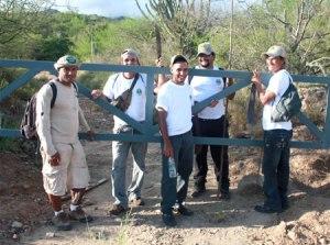 Écogardes à Macanao, Margarita, Venezuela