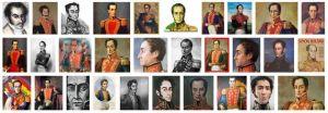 Portraits de Simón Bolívar